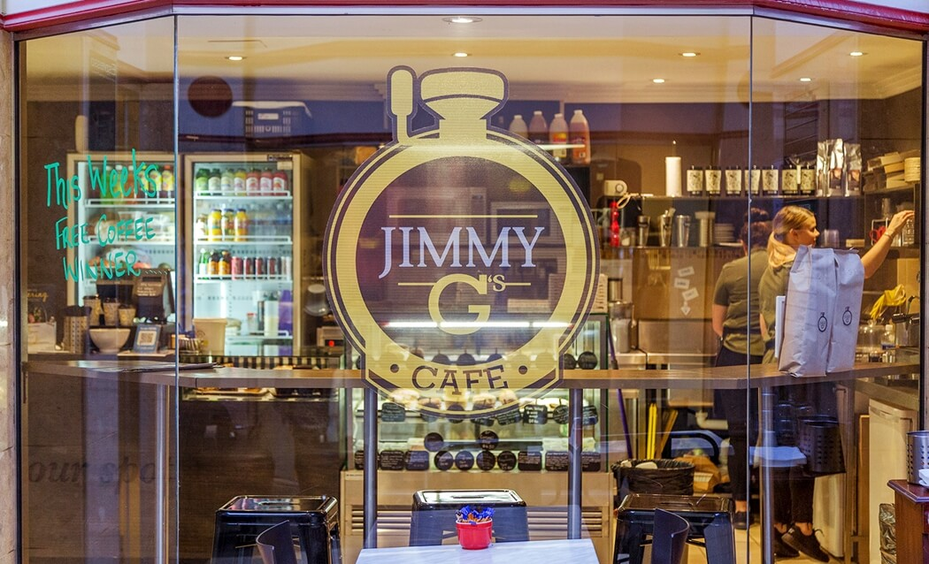 Jimmy G's new store location
