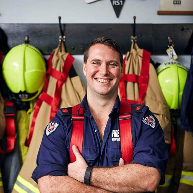 It's the Central Coast life for firefighter Matt