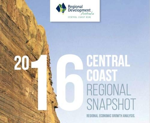 2016 Central Coast Regional Snapshot cover page