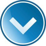 blue-round-buttonleft-arrow-vector