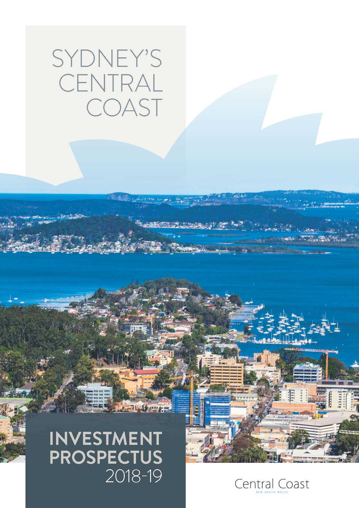 Central Coast investment prospectus 2015-16 cover